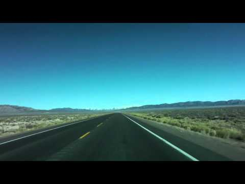 Timelapse Drive - US Route 50 Nevada