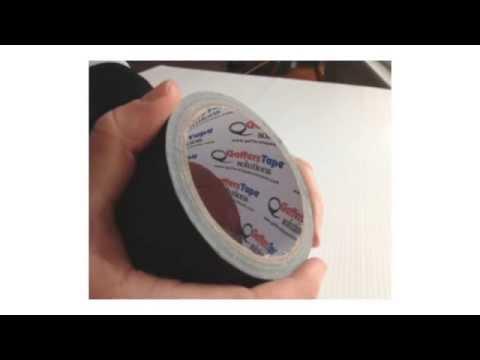 Gaffers Tape Solution | Black Gaffer Tape