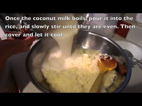 How to make Sweet Sticky Rice (Thai Style)