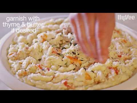 How to make quick and easy lobster mashed potatoes