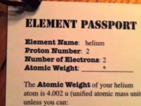 Make a Helium Atom