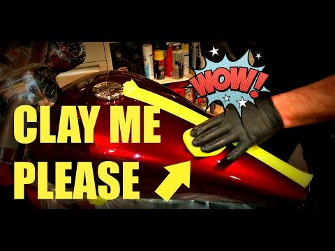 How To Clay Bar Your Motorcycle!
