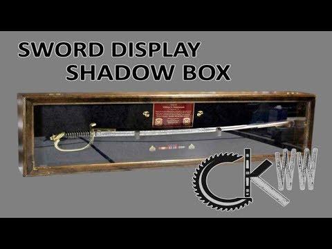 Sword Display Shadow Box | CKWW