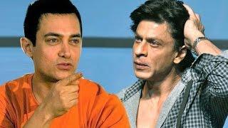 Aamir Khan INSULTS Shahrukh Khan at PK POSTER LAUNCH