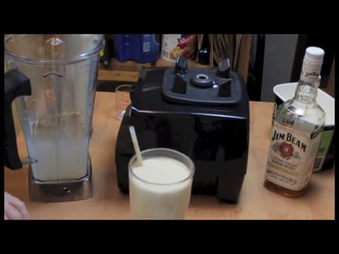 Bourbon Milkshake with Michael's Home Cooking