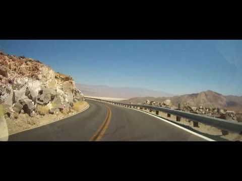 Driving Through Death Valley National Park in California & Nevada