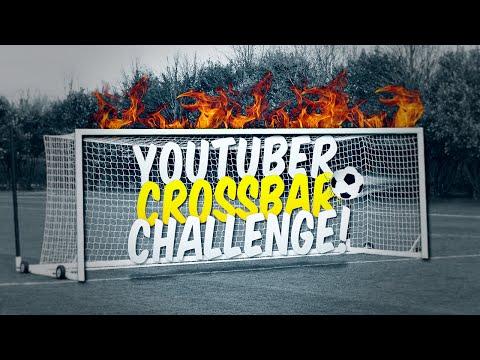 YOUTUBER CROSSBAR CHALLENGE!!!! - REAL LIFE FOOTBALL