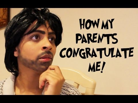 How My Parents Congratulate Me