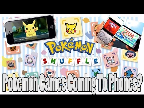Pokemon Games Coming To Android and IOS - Maybe?