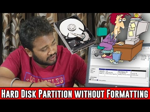 How To Partition Hard Disk without Formatting PC