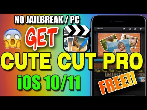 New 2017 How To Get Cute Cut Pro Free On iOS  No jailbreak/Computer iOS 10 /11