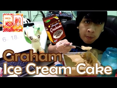 [PINOY MUKBANG] Graham Ice Cream Cake