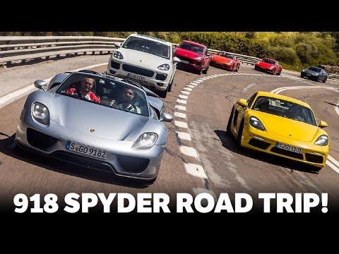 Driving A Porsche 918 Spyder On An Epic 3500 Mile Road Trip