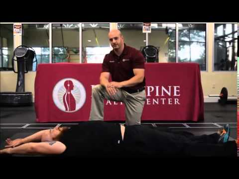Back Pain Relief Exercises: Rolling  by Ideal Spine Health Center Eagle / Boise Idaho