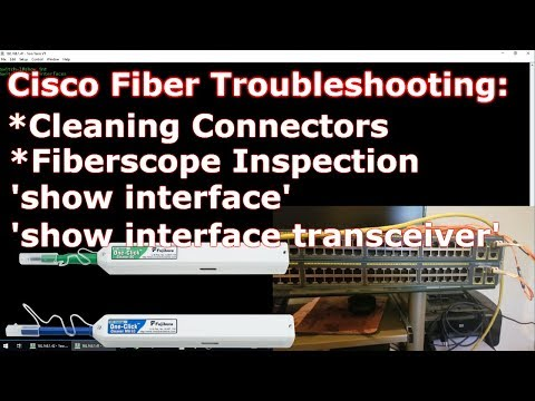 Fiber Tips for Cisco Devices