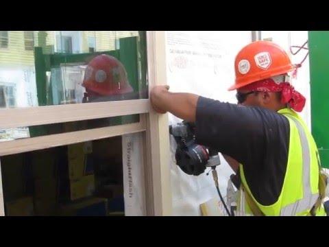 Hardie 5/4Trim to Densglass, Plywood & 14 Gauge Steel