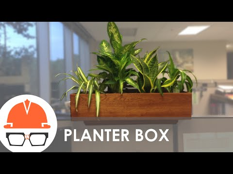 Quick Build: Cubicle Wall Planter