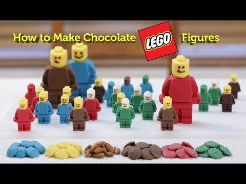 How to Make Yummy Chocolate Lego Figures