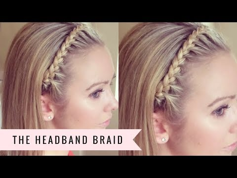 The Headband Braid by SweetHearts Hair
