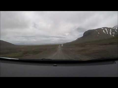 Iceland timelapse - Reykjavik to Akureyri  through Kjolur highland route
