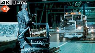 Terminator 2 : Judgment Day - Truck Chase Scene 4k