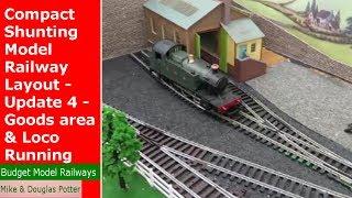 OO Gauge Compact Shunting Model Railway Layout - Update 3