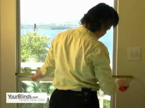 Measuring for Bamboo Blinds - Inside Mount - YourBlinds.com DIY