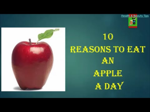 10 Reasons to Eat an Apple a Day