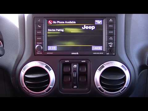 Jeep Uconnect system