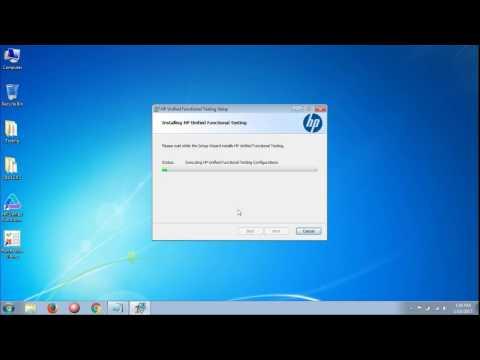 Installation of HP UFT