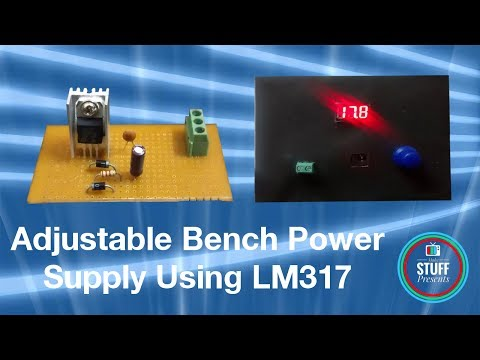Build your own Variable Bench Power Supply from scratch | Using laptop adapter & LM317