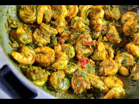 WARNING! The Best Curry Shrimp #TastyTuesdays | CaribbeanPot.com