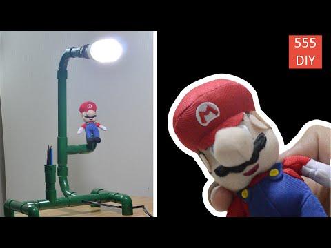 DIY Mario Warp Pipe Lamp | Super Mario Run