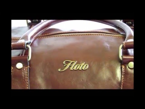 Floto Collection Duffle Bag in Vecchio Brown Italian Calfskin Leather 18837539bb6db