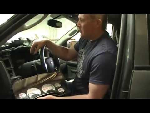 Dodge Ram instrument cluster removal procedure 2006 and similar