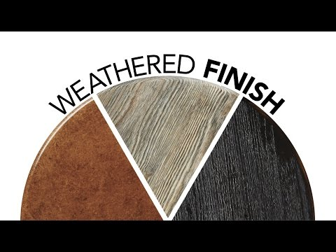 Weathered Wood Finish