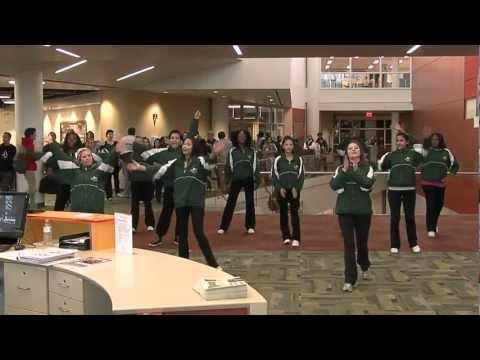 College of DuPage Flash Mob Dance and Pep Rally