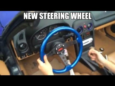 How To: Aftermarket Steering Wheel for the Miata!