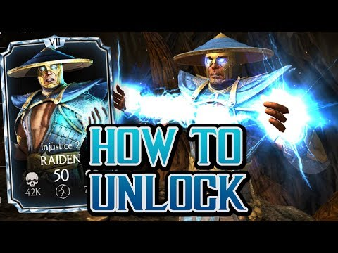 Unlock BEST DIAMOND Injustice Raiden | Mortal Kombat X New Update Hack 1.16.2