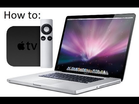 How to Set up Air play from Mac to Apple TV