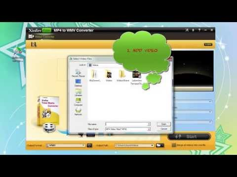 Free download Xinfire Free mp4 to wmv converter to convert mp4 to wmv