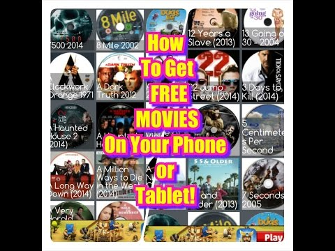 How To Get FREE HOT HD Movies On Your Andriod or Tablet!