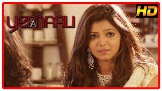 Yemaali 2018 Tamil movie scenes | Athulya Ravi is shot | Sam Jones tells past to Bala Saravanan