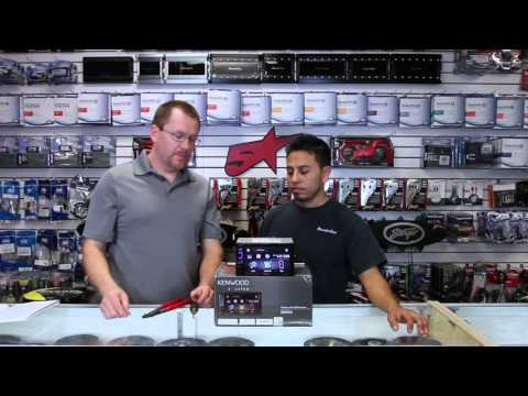 How to get around the lt. green brake wire on your Kenwood video headhunt
