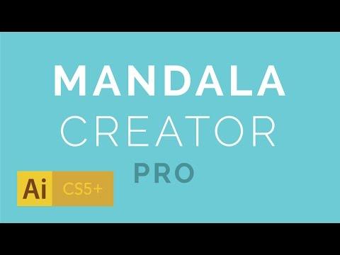 Mandala Creator Addon For Adobe Illustrator