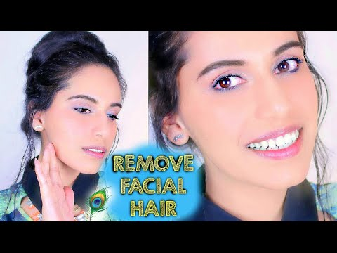 How to Remove Facial Hair for Women|How To Remove Facial Hair Naturally | How To Remove Facial Hair