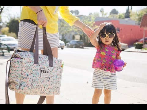 Feed + Oh Joy - The Making of a Very Special Diaper Bag