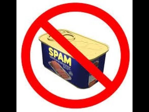 How to get rid of spam messages.