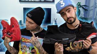 Gera Mx nos enseña su colección de sneakers