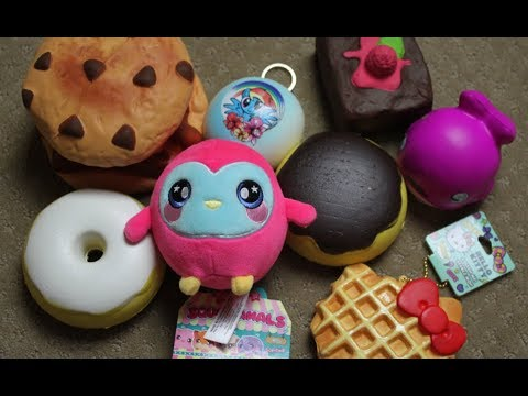 Squishies YOU Can Find in Stores